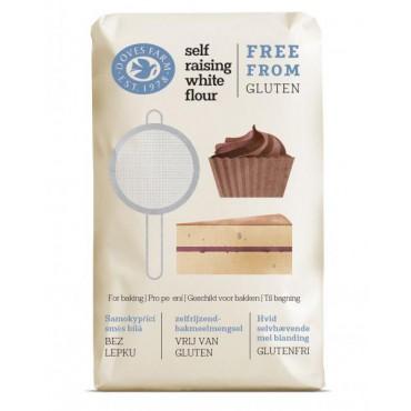Doves Farm: Samokypřicí směs bílá bez lepku 1kg