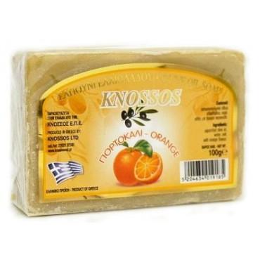 KNOSSOS: Olivové mýdlo a pomeranč 100g