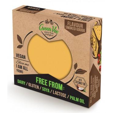 Green Vie Foods: Veganská gouda uzená blok 250g