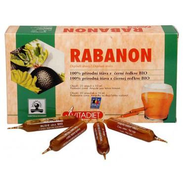 Rabanon extrakt z černé ředkve 20x10ml