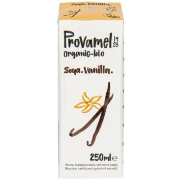 Provamel: Sójový nápoj vanilkový BIO 250ml