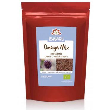 Omega mix hnědý len & chia BIO 250g