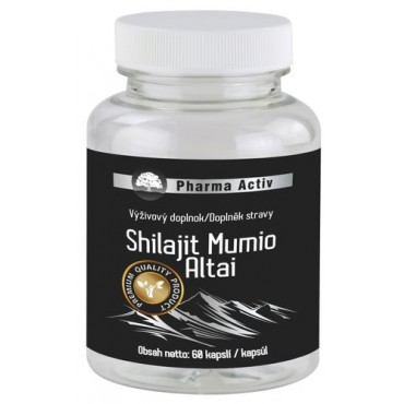 Shilajit Mumio Altai 60cps.