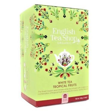 ETS: Bílý čaj s tropickým ovocem BIO 20x2g
