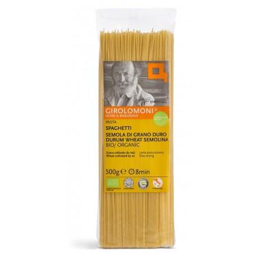 Těstoviny špagety semolinové BIO 500g