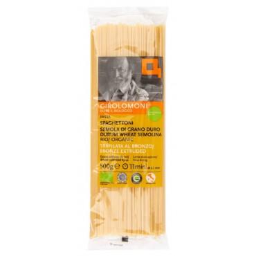 Těstoviny semolinové špagety 2,1 mm BIO 500g