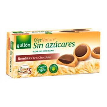 Gullón: Sušenky Ronditas Diet Natur bez cukru 186g