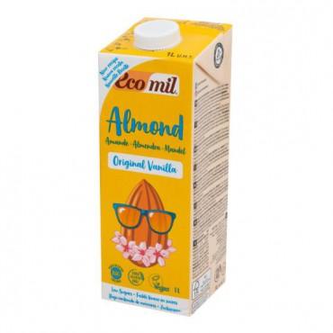 EcoMil: Nápoj ze sladkých mandlí vanilka BIO 1l