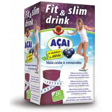 Herbex: Fit & slim drink + Açai 16x6g