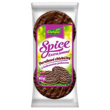 Rýžové chlebíčky perníkové s kakaovou polevou 65g