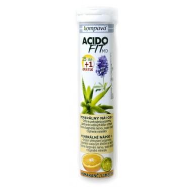 AcidoFit pomeranč limetka 15+1tbl.eff.