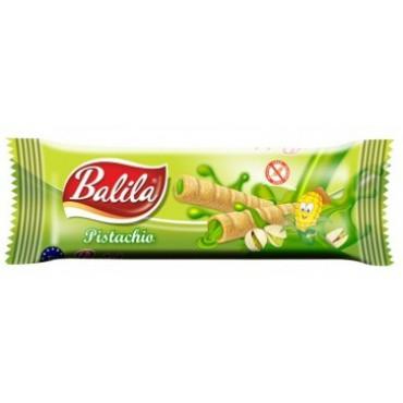 Balila: Kukuřičné trubičky pistáciové 18g