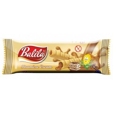 Balila: Kukuřičné trubičky s náplní tiramisu 18g