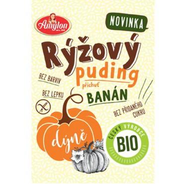 Puding rýžový s dýní a příchutí banánu bez lepku 40 g