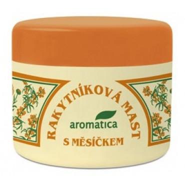 Aromatica: Rakytníková mast s měsíčkem 50ml