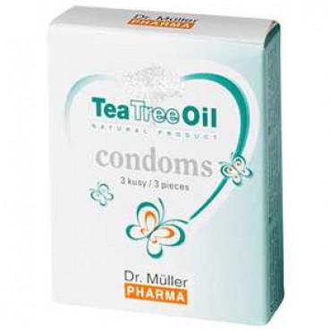 Dr.Müller: Tea Tree Oil condoms 3ks