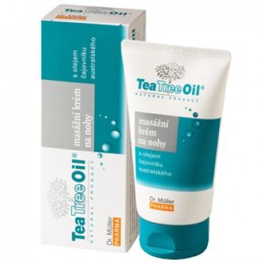 Dr.Müller: Tea Tree Oil masážní krém na nohy 150ml