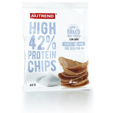 High Protein chips sůl 40g