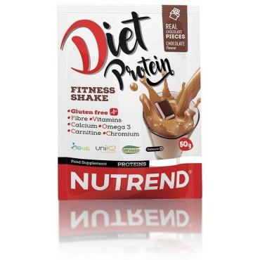 Nutrend: Diet Protein Fitness Shake čokoláda 50g