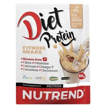Nutrend: Diet Protein Shake ledová káva 50g