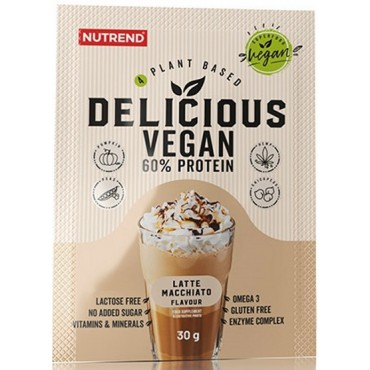Nutrend: Delicious vegan protein latte macchiato 30g