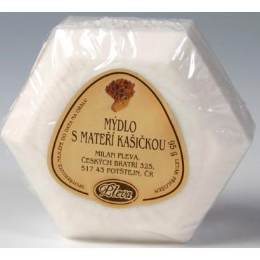 Pleva: Mýdlo s mateří kašičkou 95g