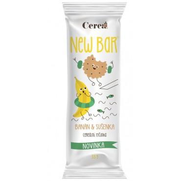 New Bar Cereální tyčinka tvaroh & banán 33g