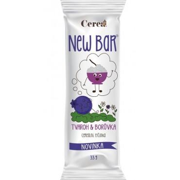 New Bar Cereální tyčinka tvaroh & borůvkou 28g