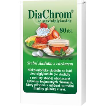 DiaChrom se stévií 80tbl.