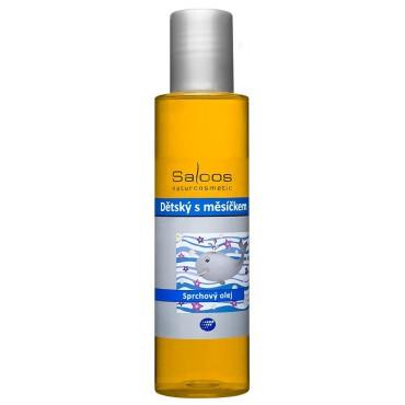Saloos: Sprchový olej Dětský s měsíčkem 125ml