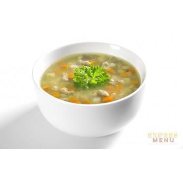 EXPRES MENU: Hovězí polévka s játrovou rýží bezlepková 300g