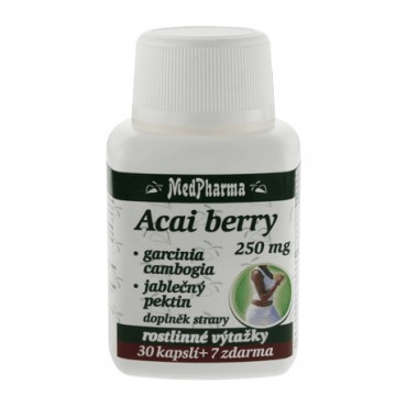 Acai berry 250 mg 30+7cps.