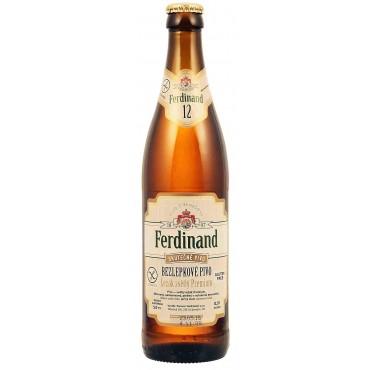 Ferdinand: Pivo světlý ležák Premium 12° 500ml