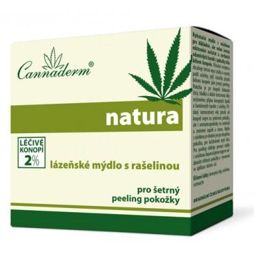 Cannaderm: Lázeňské mýdlo s rašelinou 80g