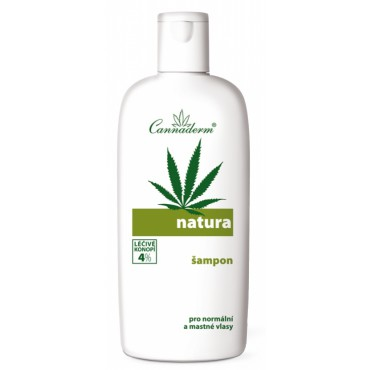 Cannaderm: Natura šampon na vlasy 200ml