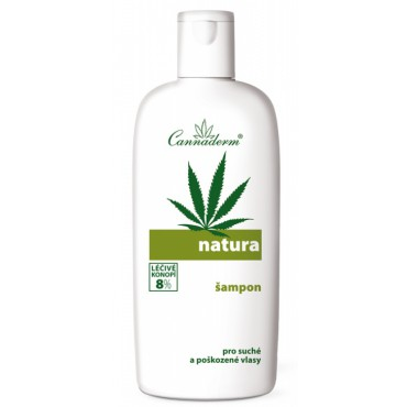Cannaderm: Natura šampon pro suché vlasy 200ml