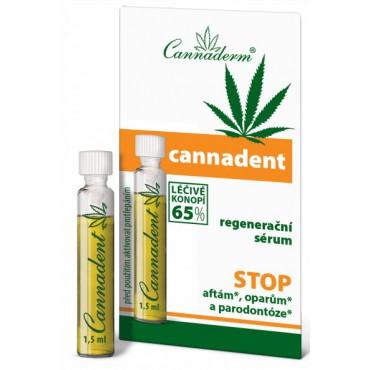 Cannaderm: Cannadent regenerační sérum 1,5ml