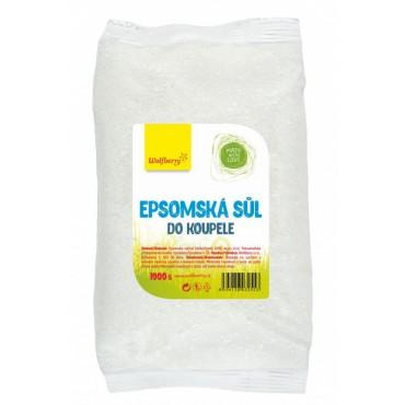 Epsomská sůl do koupele 1kg