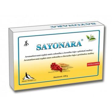 Sayonara směs čajů s příchutí maliny 100g