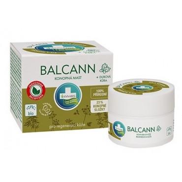 Annabis: Balcann konopná mast BIO + dubová kůra 50ml