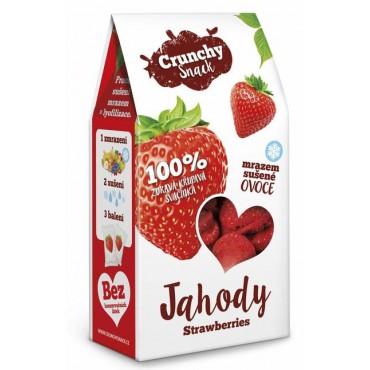 Crunchy Snack: Jahody sušené mrazem 20g