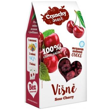 Crunchy Snack: Višně sušené mrazem 20g