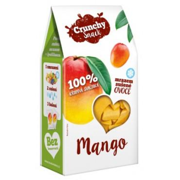Crunchy Snack: Mango sušené mrazem 20g
