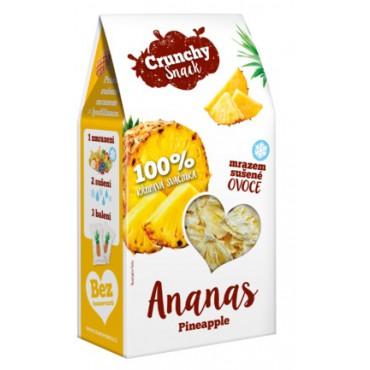 Crunchy Snack: Ananas sušený mrazem 20g