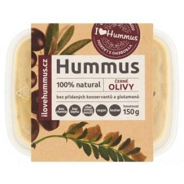 Hummus cizrnová pomazánka černé olivy 150g
