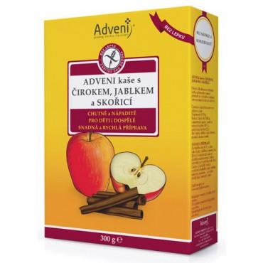 Adveni: Kaše s čirokem, jablkem a skořicí 300g