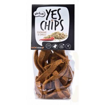 Yes chips čočkové s chilli 80g