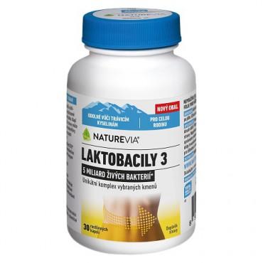 Swiss NatureVia Laktobacily 3 30cps.