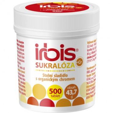 IRBIS Sukralóza s chromem 500tbl.