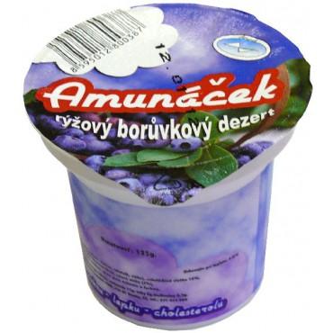 Amunáček rýžový dezert borůvka 125g